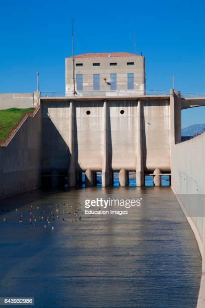 Sepulveda Dam Sepulveda Basin Wildlife Reserve San Fernando Valley Los Angeles CAlifornia USA