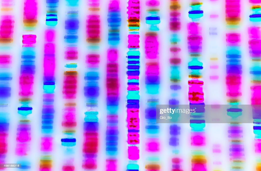 DNA sequence : Stock Photo