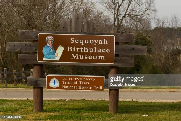 Sequoyah Birthplace Museum in Vonore, Tennessee.