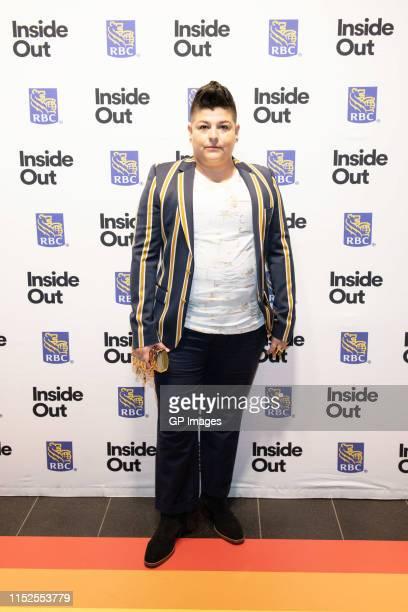 "Ser Anzoategui attends 2019 Inside Out LGBT Film Festival - Screening Of ""Vida"" at TIFF Bell Lightbox on May 29, 2019 in Toronto, Canada."