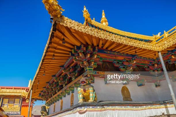 sera monastery, lhasa, tibet - lhasa stockfoto's en -beelden