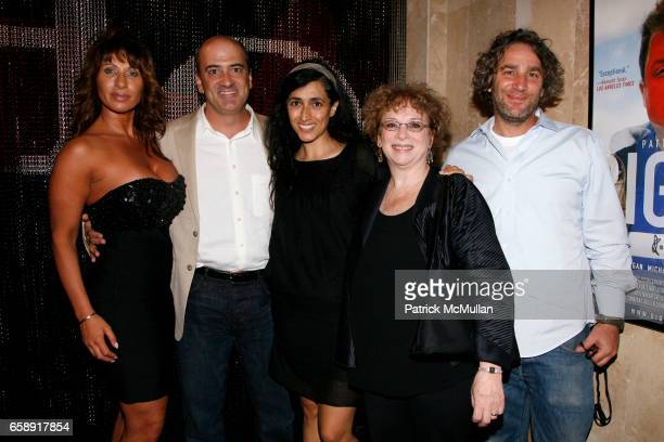 Serafina Fiore Matt Servitto Guest Marcia Jean Kurtz and Guest attend BIG FAN Premier and Afterparty at Headquarters at 552 W 38th St on August 25...