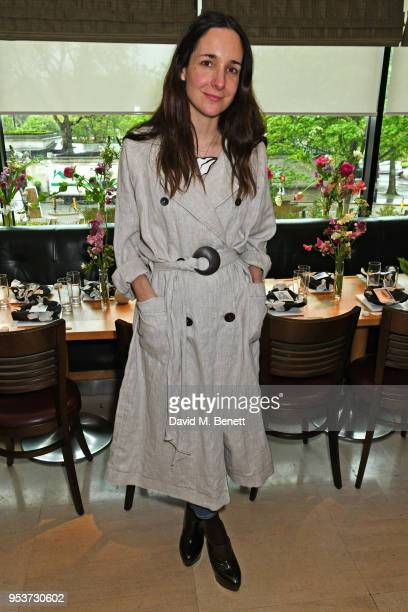 Serafina Sama attends an exclusive lunch at Nobu which she hosted to celebrate the Isa Arfen Spring/Summer 2018 pop up at Liberty on May 2 2018 in...