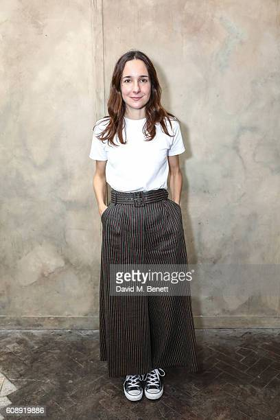 Serafina Sama attends the Isa Arfen presentation during London Fashion Week Spring/Summer collections 2017 on September 20 2016 in London United...