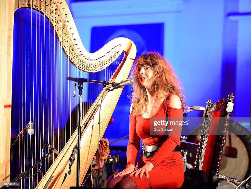 Serafina Steer performs at St Leonards Church on January 24, 2013 in London, England.