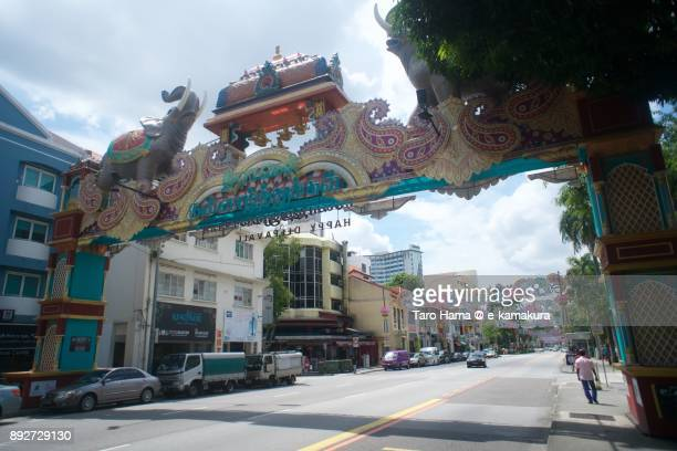 Serangoon Road in Little India in Singapore