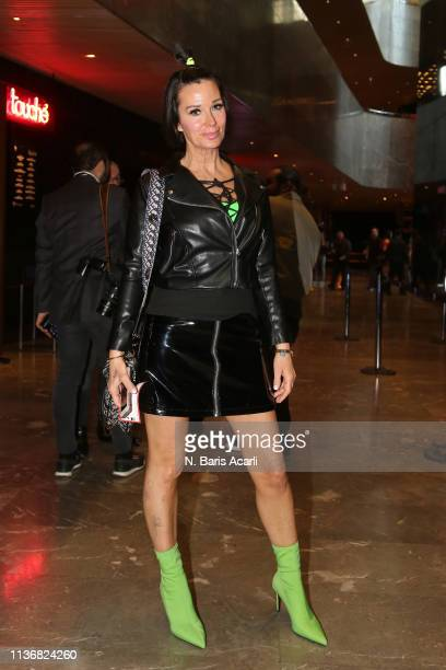 Serap Dindar attends the DB Berdan show during the MercedesBenz Fashion Week Istanbul March 2019 at Zorlu Center on March 19 2019 in Istanbul Turkey