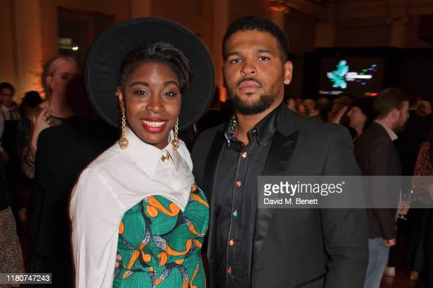 Seraphina Beh and Kola Bokinni attend the BAFTA Breakthrough Brits celebration event in partnership with Netflix at Banqueting House on November 7...