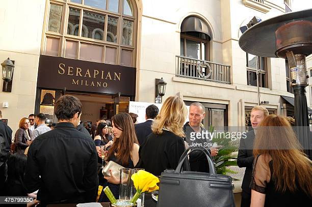 Serapian Milano Celebrates Opening of First US Retail Store in Beverly Hills at Serapian on June 3 2015 in Beverly Hills California