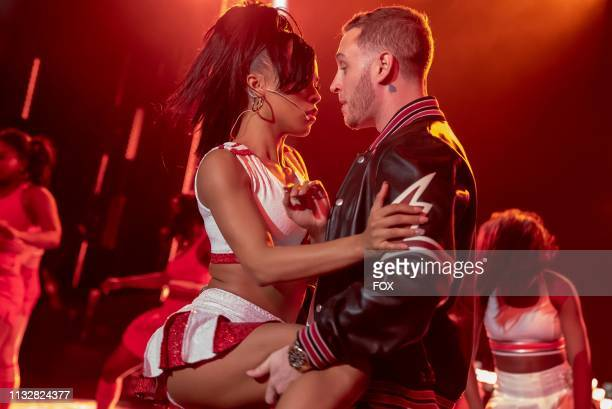 Serayah and Chet Hanks in the Hot Blood Hot Thoughts Hot Deeds episode of EMPIRE airing Wednesday April 3 on FOX