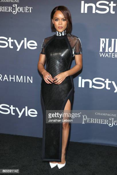 Serayah at the 2017 InStyle Awards presented in partnership with FIJI WaterAssignment at The Getty Center on October 23 2017 in Los Angeles California