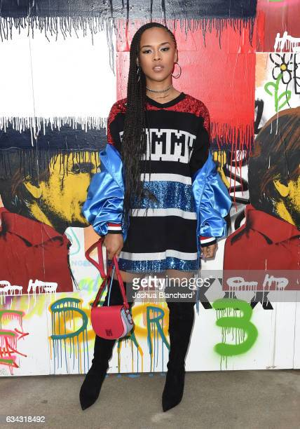 Serayah at the TommyLand Tommy Hilfiger Spring 2017 Fashion Show on February 8 2017 in Venice California
