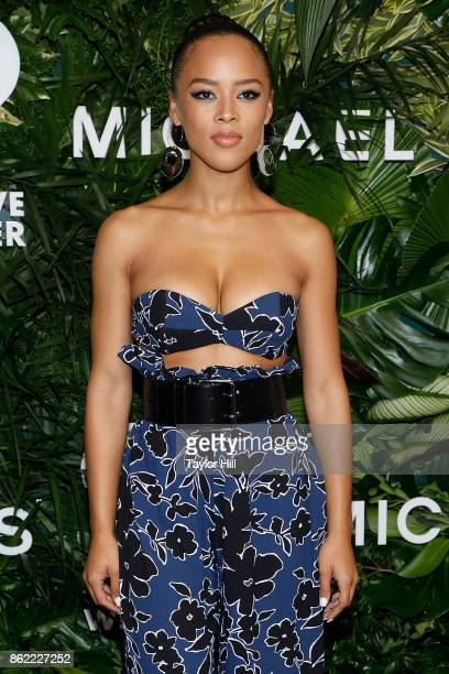 Serayah attends the 11th Annual God's Love We Deliver Golden Heart Awards at Spring Studios on October 16 2017 in New York City