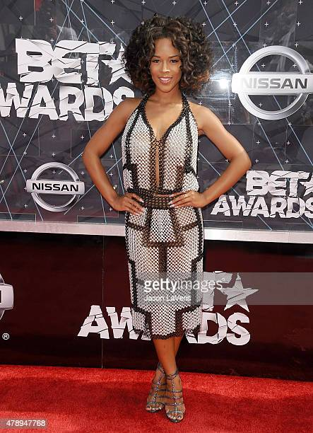 Serayah attends the 2015 BET Awards at the Microsoft Theater on June 28 2015 in Los Angeles California
