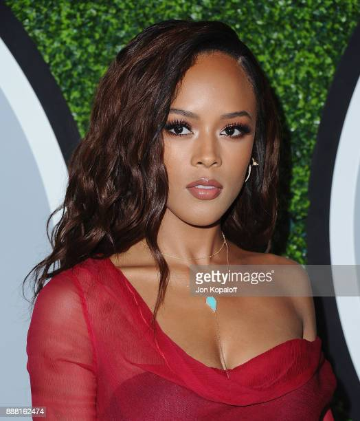 Serayah attends the 2017 GQ Men Of The Year Party at Chateau Marmont on December 7 2017 in Los Angeles California