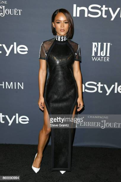 Serayah attends the 3rd Annual InStyle Awards at The Getty Center on October 23 2017 in Los Angeles California