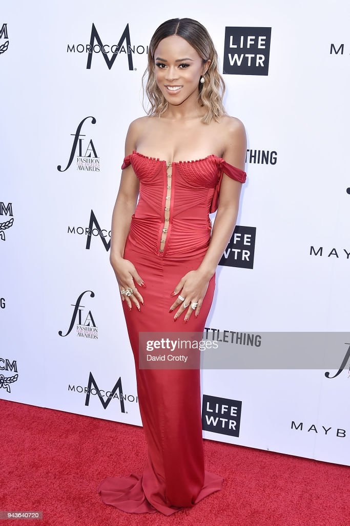 Serayah attends The Daily Front Row's 4th Annual Fashion Los Angeles Awards - Arrivals at The Beverly Hills Hotel on April 8, 2018 in Beverly Hills, California.