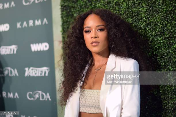 Serayah attends the Runway To Red Carpet hosted by Council of Fashion Designers of America Variety and WWD at Chateau Marmont on February 20 2018 in...