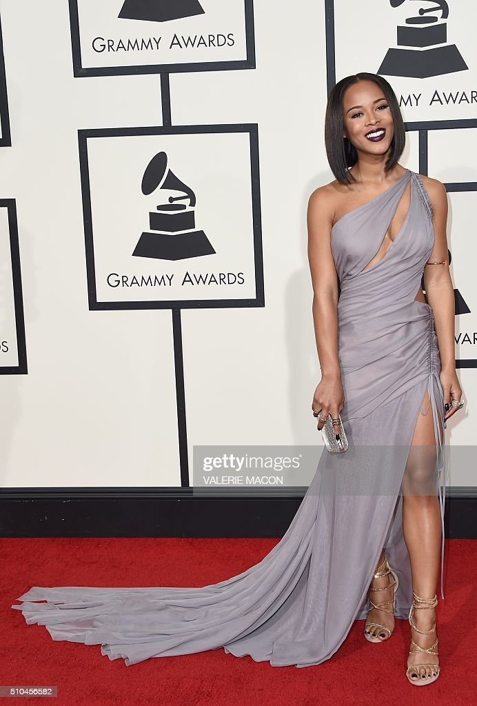 US-GRAMMY-ARRIVALS : News Photo