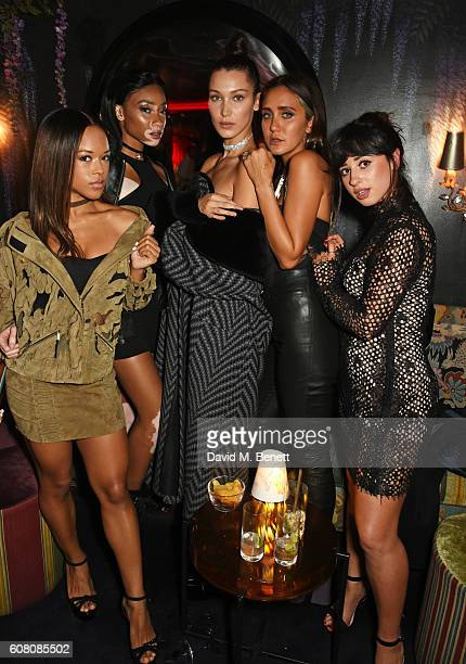 Serayah McNeill, Winnie Harlow, Bella Hadid, Jesse Jo Stark and Foxes attend LOVE Magazine and Marc Jacobs LFW Party to celebrate LOVE 16.5...