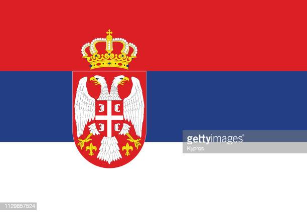 serbia flag - serbia stock pictures, royalty-free photos & images