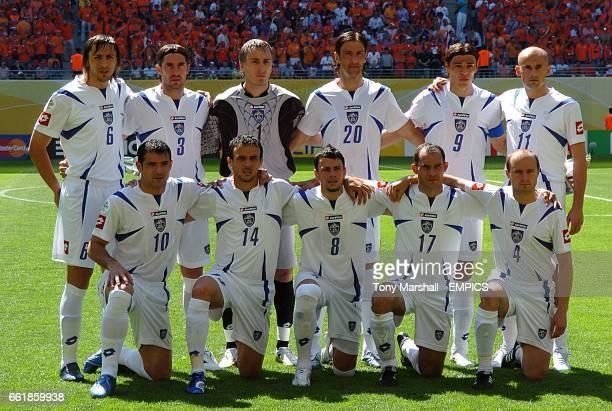 Serbia Montenegro team group