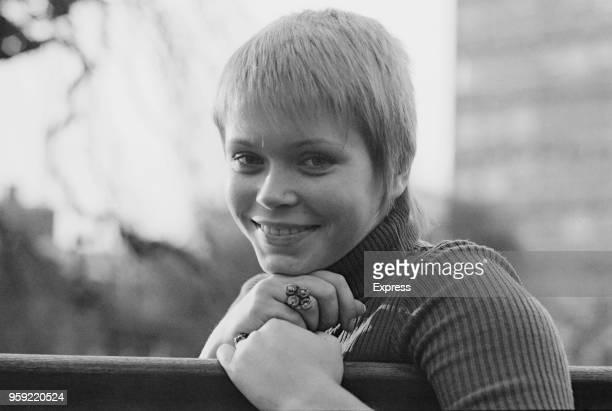 Serbian actress Neda Arneric in London on 20th November 1970