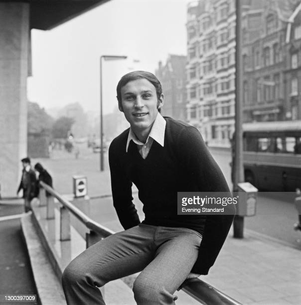 Serbian footballer Dragan Dzajic of Red Star Belgrade at the Royal Garden Hotel in London, UK, 11th October 1972.
