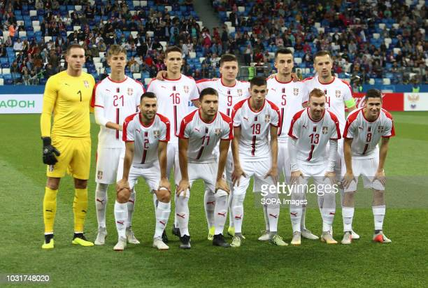 Serbian national team players 2019 UEFA European Under21 Championship Russia vs Serbia Group 7 The Russian team lost to Serbia team 32
