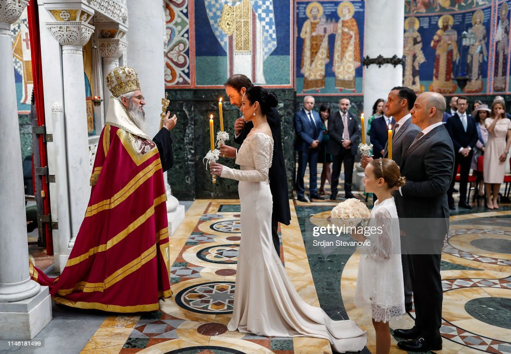 Wedding Of Dusan Karadjordjevic And Valerie Demuzio At Oplenac : News Photo