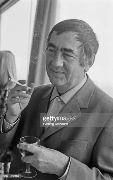 Serbian poet Vasile 'Vasko' Popa , UK, 3rd July 1973.