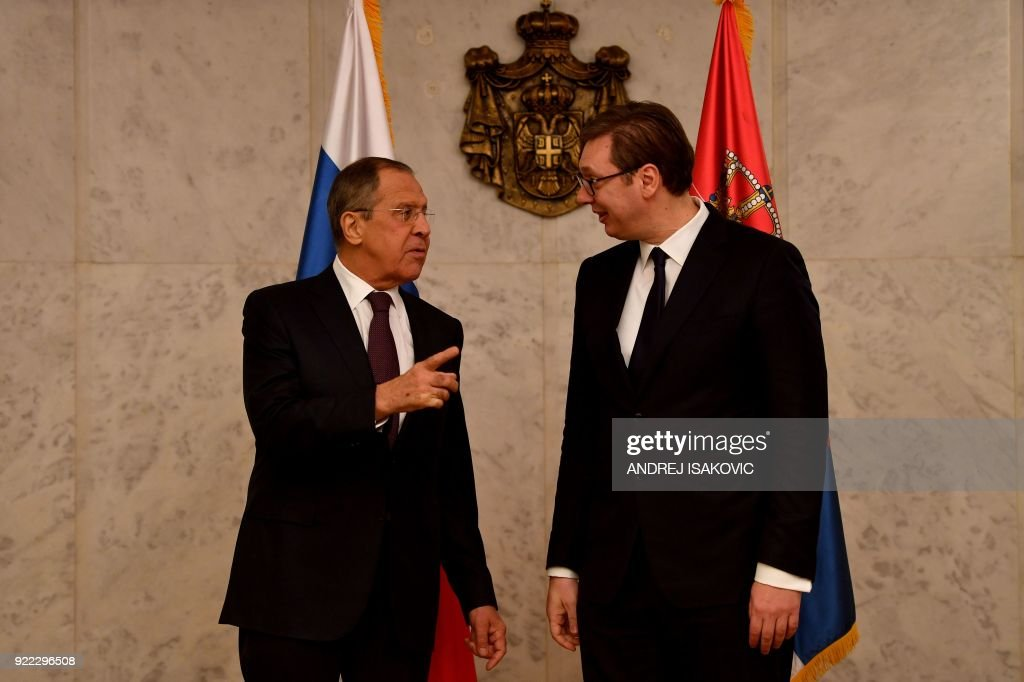 SERBIA-RUSSIA-DIPLOMACY : News Photo