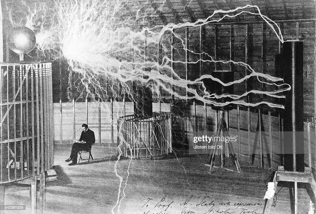 American Electrician Physicist And Inventor Tesla