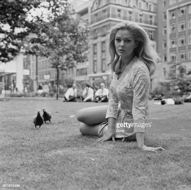 SerbianItalian actress Beba Loncar in London UK 5th July 1968