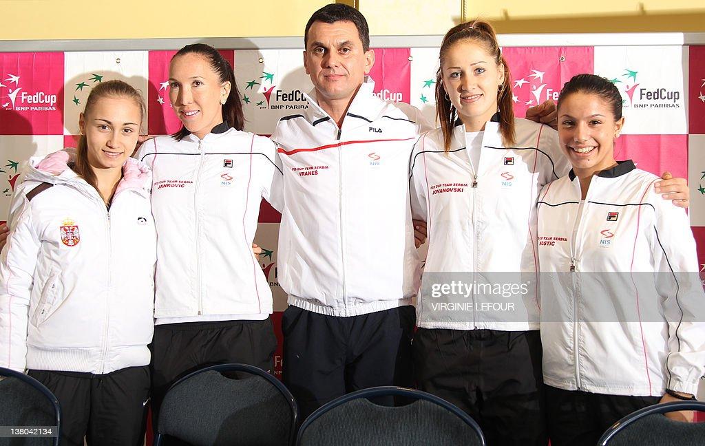 Serbia's Aleksandra Krunic (WTA 198), Se : News Photo