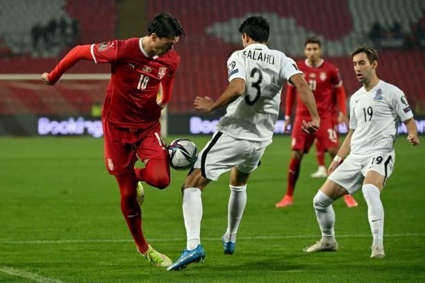 UNS: Serbia v Azerbaijan - 2022 FIFA World Cup Qualifier