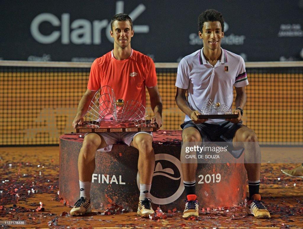 TENNIS-ATP-BRA-AUGER-DJERE : News Photo