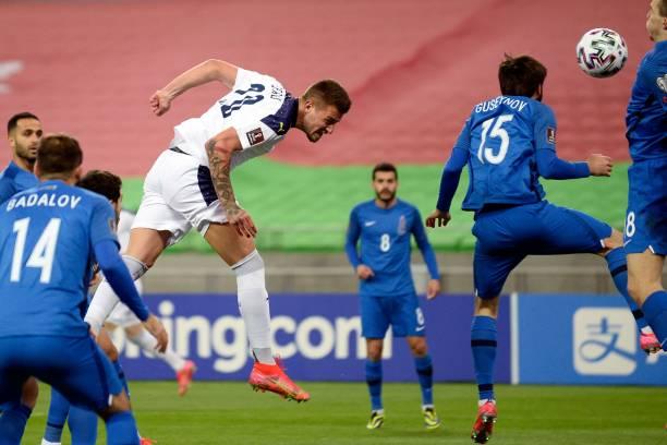 AZE: Azerbaijan v Serbia - FIFA World Cup 2022 Qatar Qualifier
