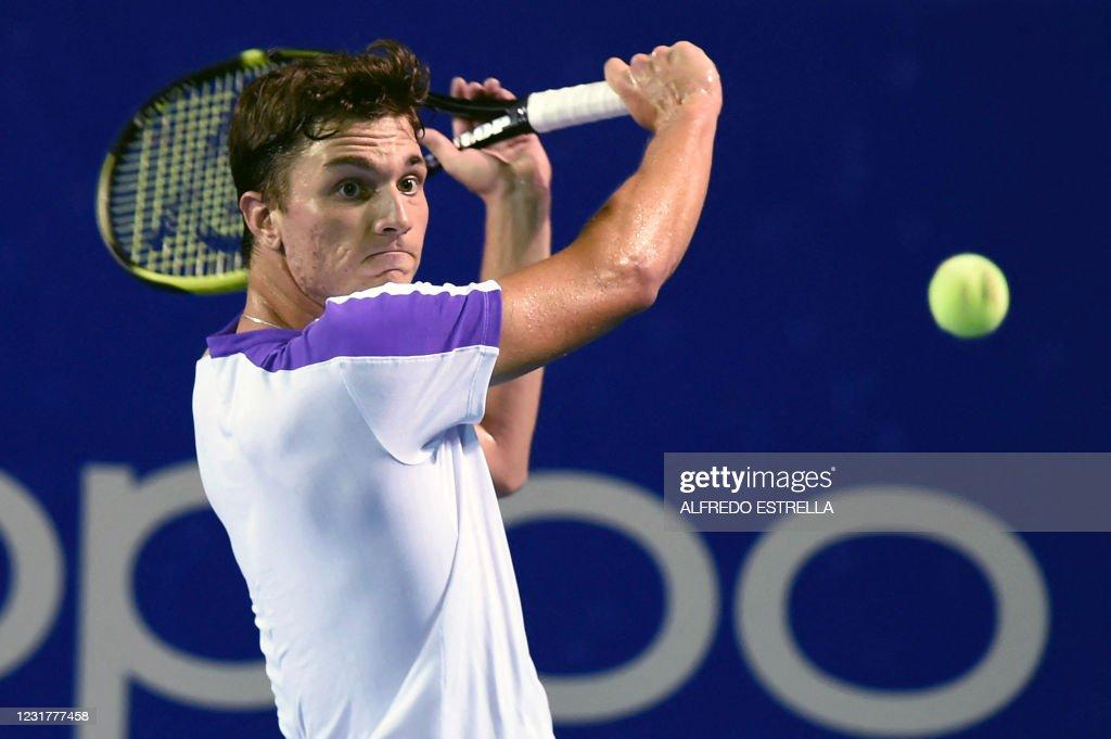 TENNIS-ATP-MEX-OPEN : News Photo