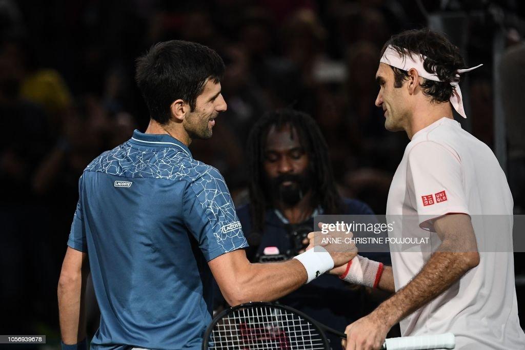 TOPSHOT-TENNIS-ATP-FRA : News Photo