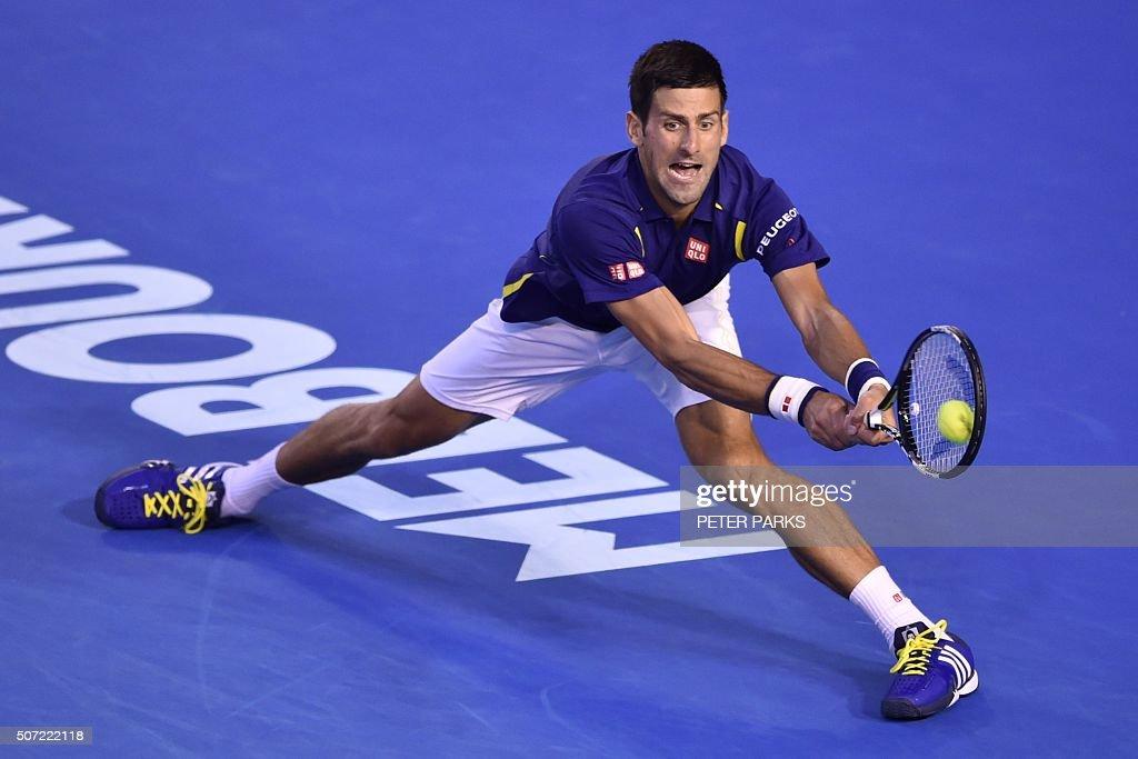 TOPSHOT-TENNIS-AUS-OPEN : News Photo