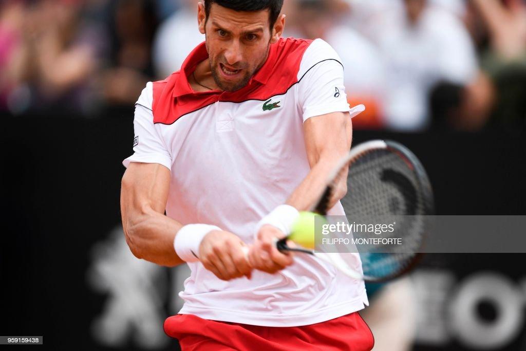 TENNIS-ITALY-ATP : News Photo