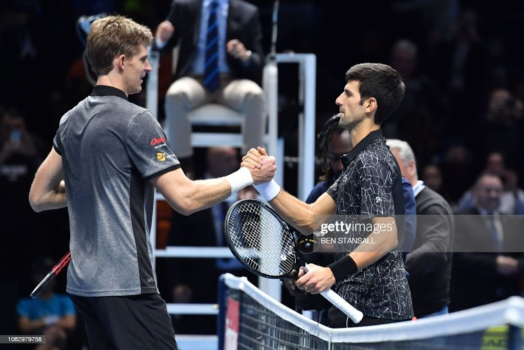 TENNIS-GBR-ATP-FINALS : News Photo