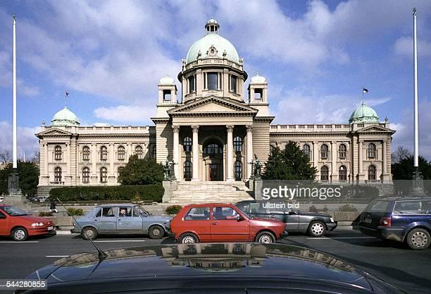 Serbien Belgrad Bundesparlament