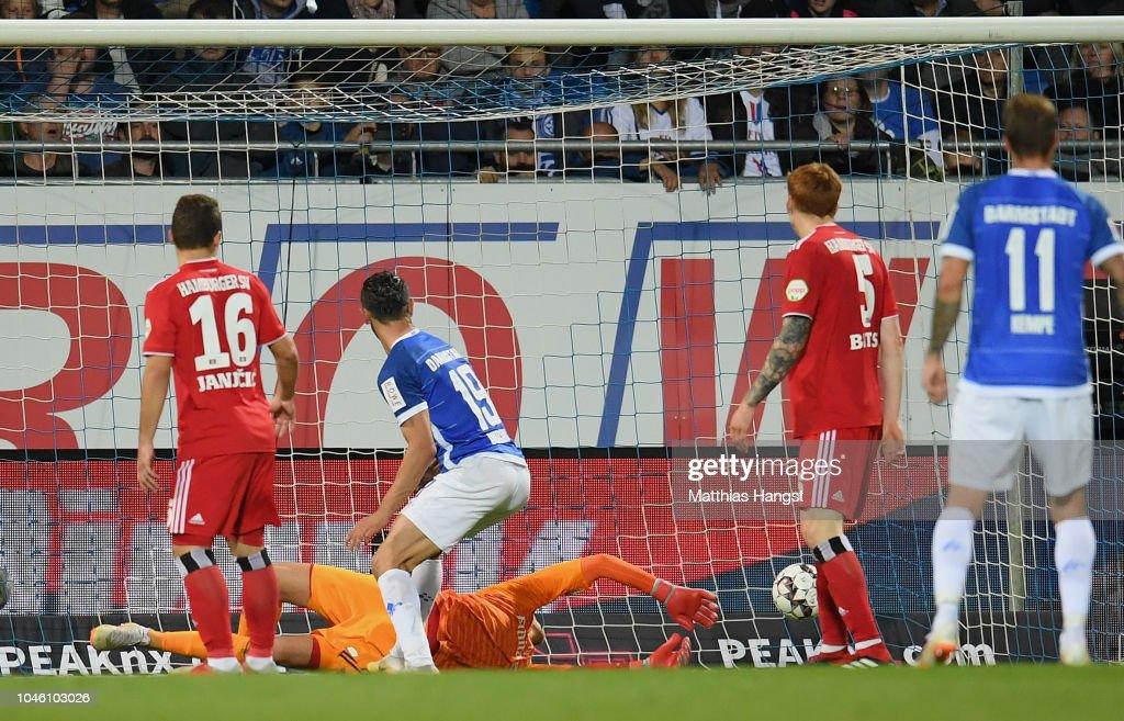 SV Darmstadt 98 v Hamburger SV - Second Bundesliga : News Photo