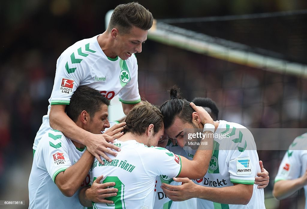 1. FC Nuernberg v SpVgg Greuther Fuerth - Second Bundesliga