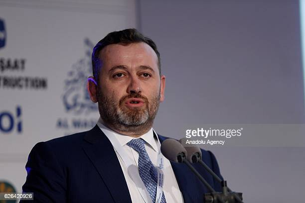 Serdar Sumer Chief Executive Officer at Aktif Investment Bank attends a session titled 'Towards an Islamic Finance and Impact Investing Ecosystem'...