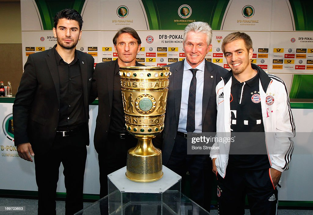DFB Cup - Training & Press Conference