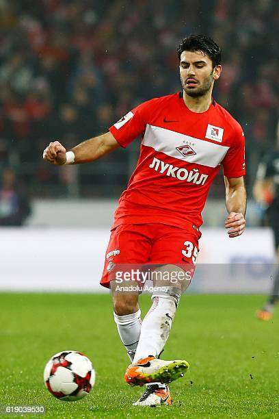 Serdar Tasci of FC Spartak Moscow is seen during the Russian Premier League match between FC Spartak Moscow and PFC CSKA Moscow at Otkrytie Arena...