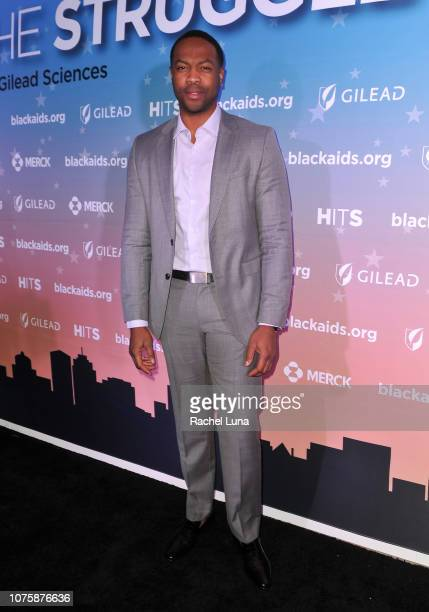 Ser'Darius Blain attends the Black AIDS Institute's 2018 Heroes in The Struggle Gala at California African American Museum on December 01 2018 in Los...
